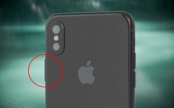 iPhone 8 renders show a larger Power key that (could) house the fingerprint reader