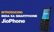 Reliance announces JioPhone, an effectively free 4G feature phone for the masses