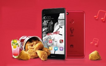 KFC and Huawei launch a limited edition phone in China