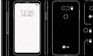 LG V30 design confirmed, camera could also have f/1.6 aperture