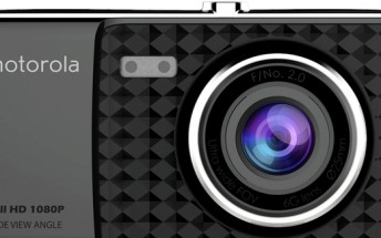 New Motorola dash camera coming - 4'' touchscreen, $99 price