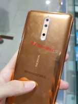 Nokia 8 in gold-copper