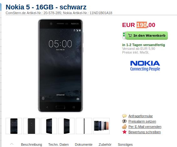 Nokia Germany