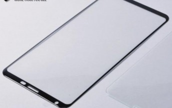 Samsung Galaxy Note8 screen protector reveals the display's curves