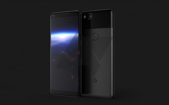 Google Pixel 2 XL design revealed in an early render