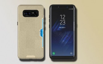 Samsung Galaxy Note8 shines in new renders from case maker