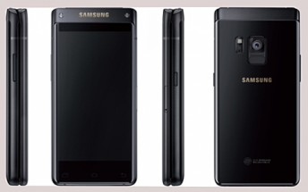 Upcoming Samsung flip phone (SM-G9298) leaks in render