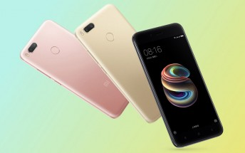 Xiaomi Mi 5X now comes in 32GB storage option as well