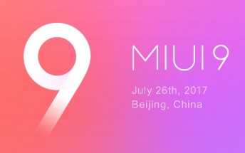 Xiaomi Mi 6 and Redmi Note 4X to get MIUI 9 on August 11