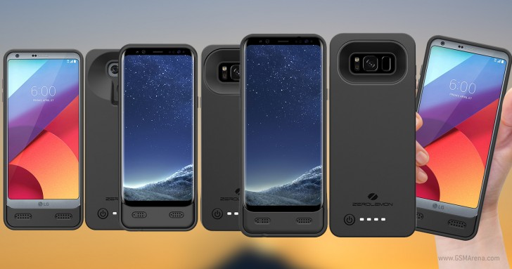 wholesale dealer 8dace 7fd42 ZeroLemon delivers Galaxy S8, S8+ and LG G6 battery cases with ...