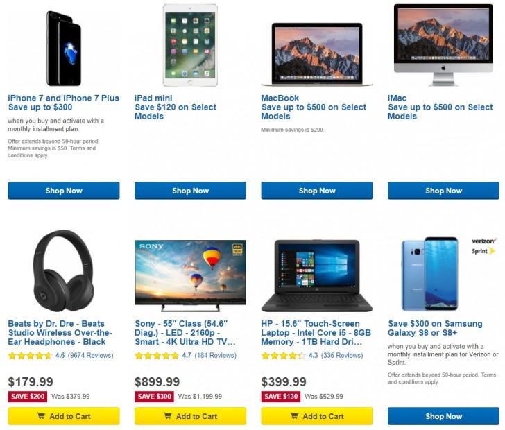 Deal Best Buy 50 Hour Sales Event Gsmarena Com News