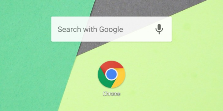Chrome 60 for Android adds fast home screen search widget