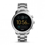 Fossil Q Explorist in (Smoke) Stainless Steel