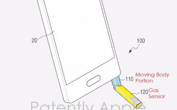 Galaxy Note9 may have a breathalyzer built into the S Pen, patent reveals