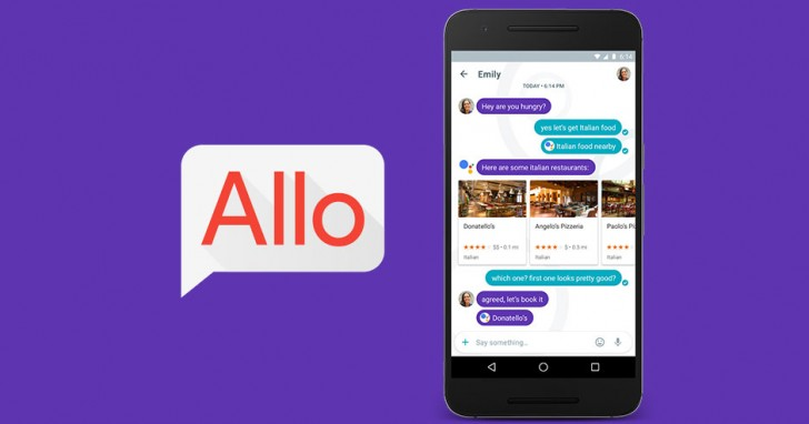Latest update to Google Allo prepares it for web client - GSMArena
