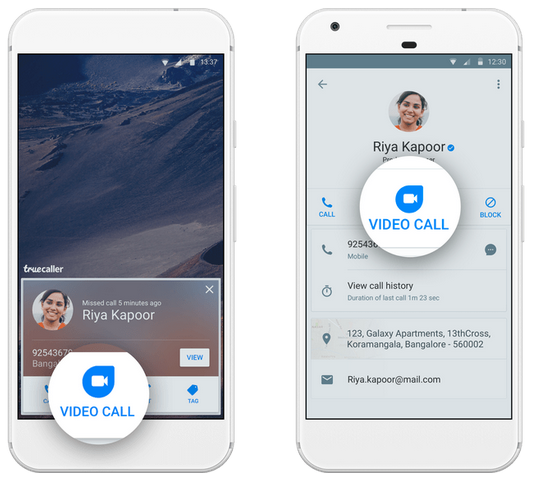 Now you can make Google Duo video calls directly through Truecaller