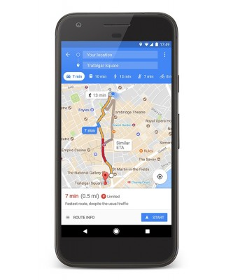 Google Maps app gets public parkings and parking lots info ...