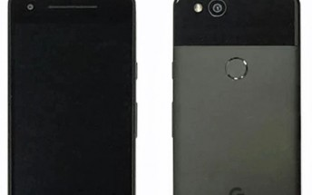 Google Pixel 2 leaks in blurry image, shows its big top and bottom bezels