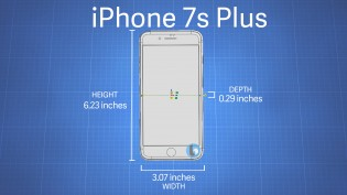 iPhone 7s and 7s Plus dimensions (rumored)