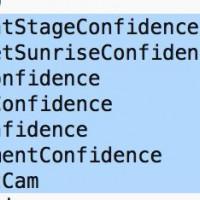 Smart Camera scene types