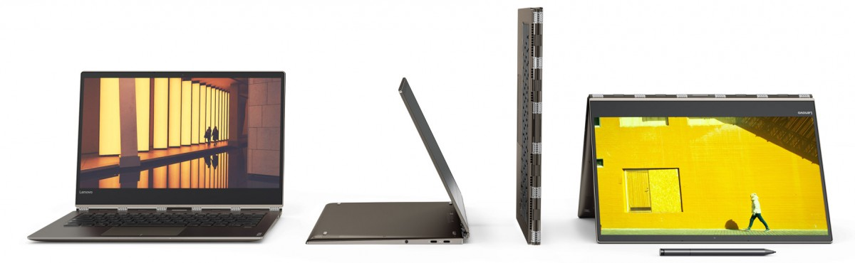 Lenovo unveils Yoga 920 and Yoga 720 convertibles, Miix 520 2-in-1