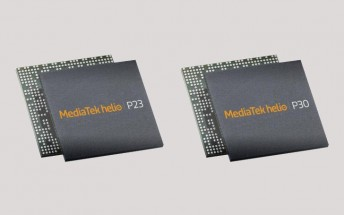 MediaTek unleashes two new mid-range chipsets - the Helio P23 and the Helio P30