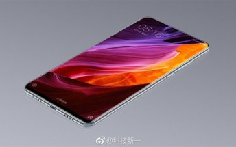 Xiaomi Mi Mix 2 prototype allegedly stars in leaked image showing an all-screen front