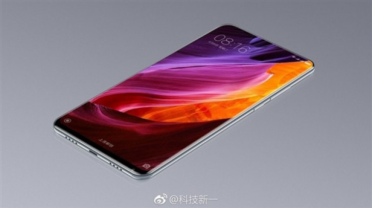 xiaomi mi mix 2 prototype allegedly stars in leaked image