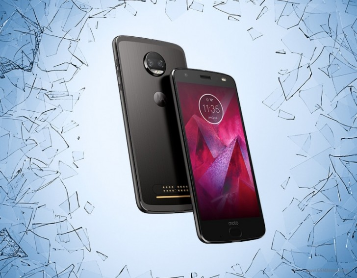 Moto's tough Z2 uses the Force