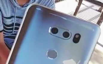 Here's the closest look we've seen of the LG V30, reveals slight camera hump