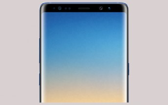 Deep Sea Blue color option for Samsung Galaxy Note8 leaks
