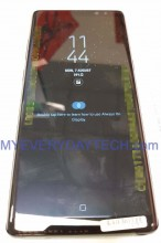 Samsung Galaxy Note8 (leak): Front