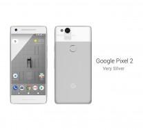 Google Pixel 2: Very Silver
