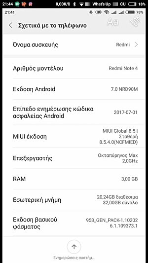 android nougat for redmi 4x