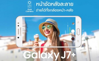 Samsung Galaxy J7+ shows its dual-camera, coming soon