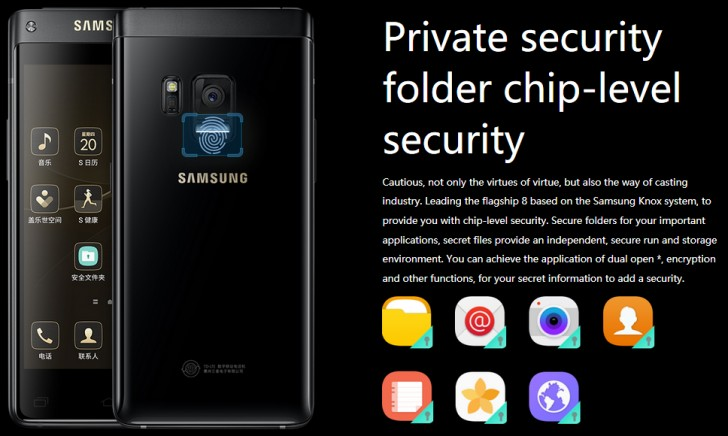 The new Samsung flip phone is now official for China Mobile