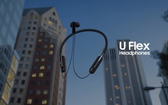 Samsung launches U Flex bendable Bluetooth headphones