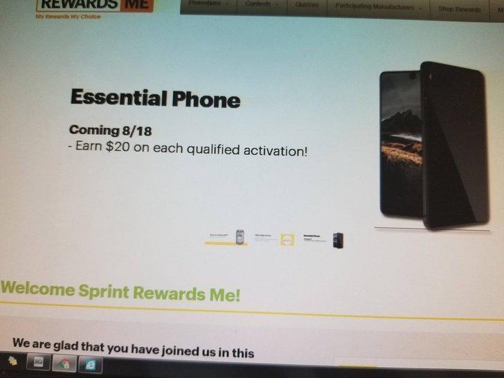 Sprint to begin selling Essential Phone this week [Updated