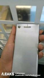 (Leak) Sony Xperia XZ1 rear panel