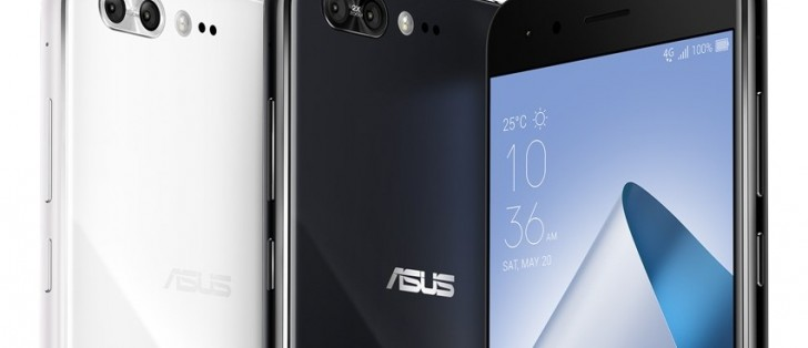 Six Portemonnee.Asus Drops Six New Zenfone 4 Models Gsmarena Com News