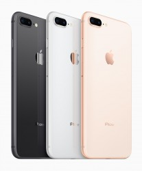 Apple iPhone 8 and 8 Plus colors