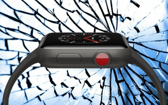 Is the sapphire of the Apple Watch Series 3 better than glass?