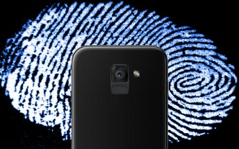 Galaxy A5 and A7 (2018): fingerprint reader below the camera, Infinity Display