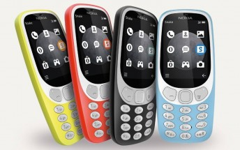 Pre-orders for Nokia 3310 3G are now live in Europe