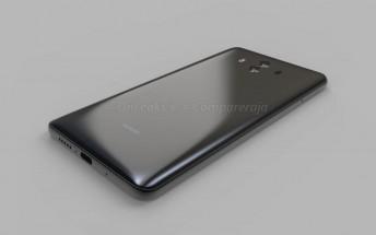 Huawei Mate 10 shown off in leaked renders, video