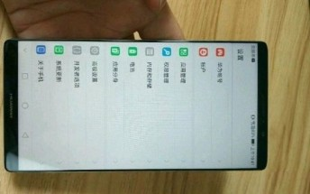 First image of Huawei Mate 10 leaks, shows no home button