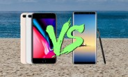Apple iPhone 8 Plus vs. Samsung Galaxy Note 8: a speed test