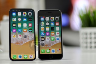 apple iphone x or edition sized up to all previous iphones