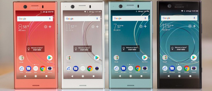 just in sony xperia xz1 compact hands on gsmarena com news