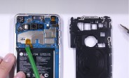 LG V30 taken apart, watch its f/1.6 camera torn to pieces